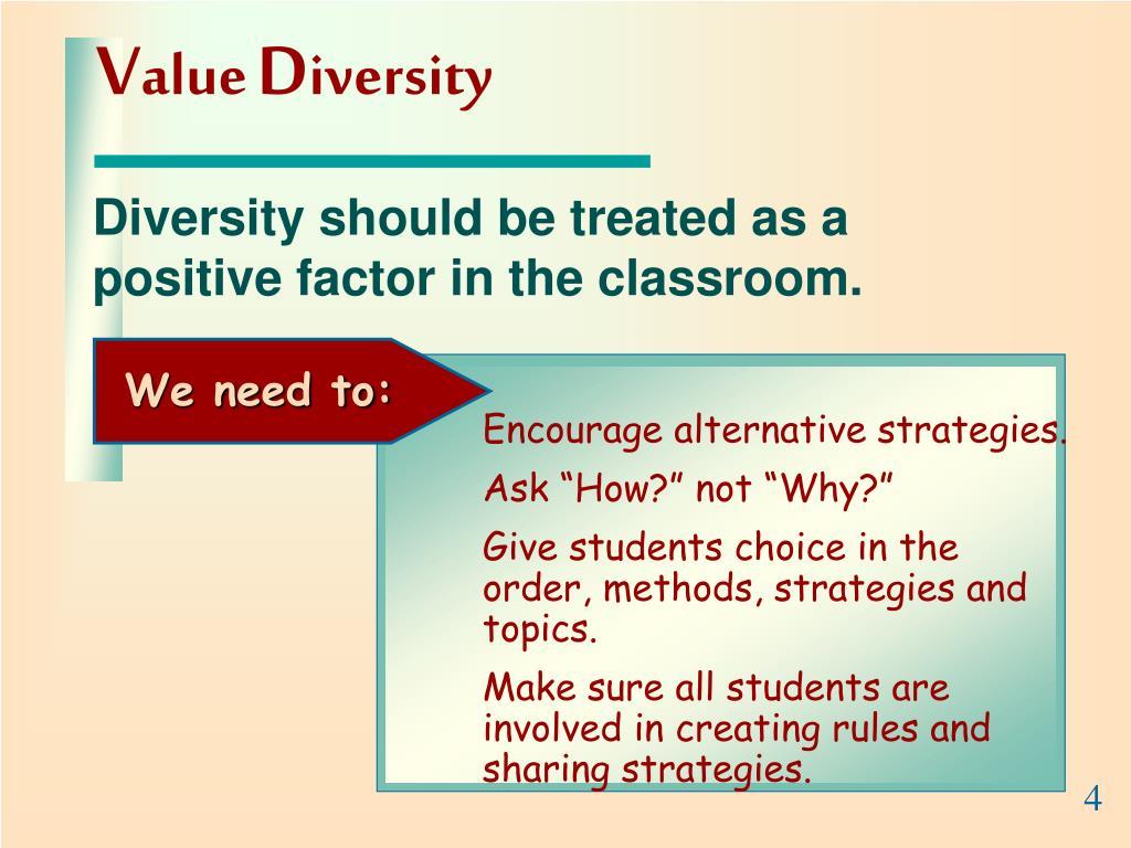 Encourage alternative strategies.