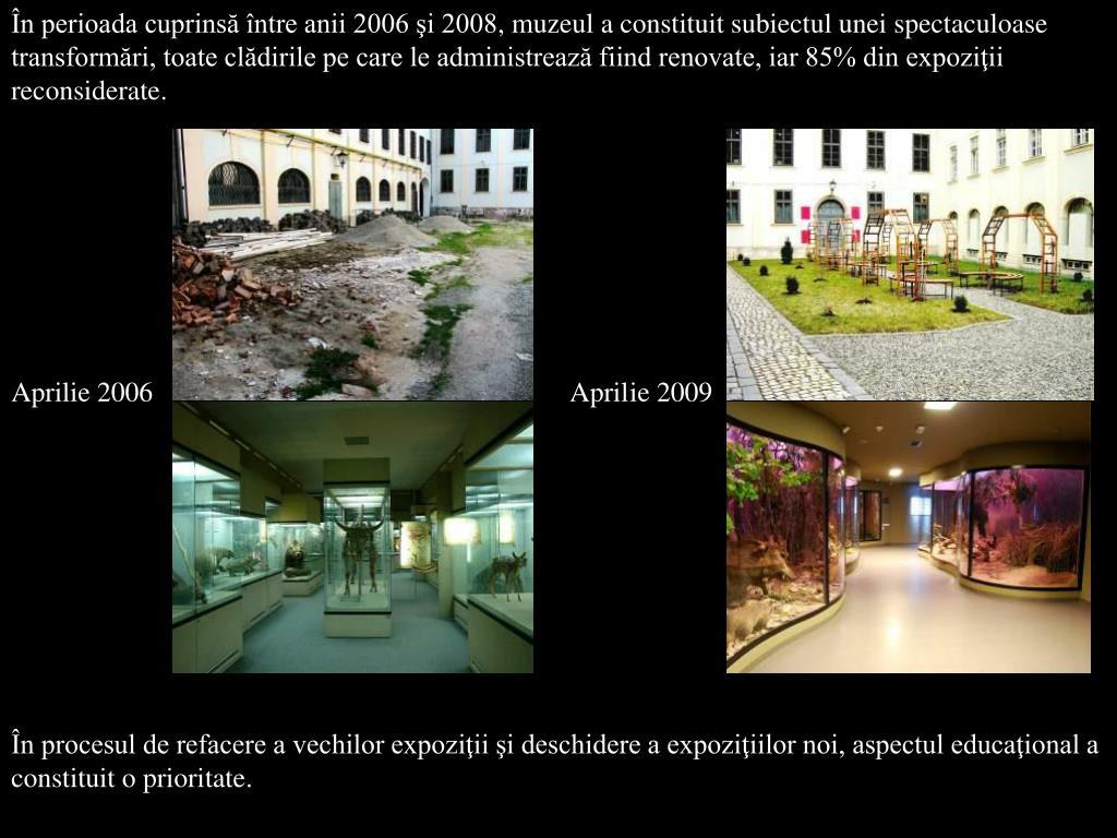 În perioada cuprinsă între anii 2006 şi 2008