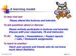 a learning model6