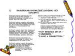 1 background knowledge schema key concepts