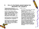 fix up strategies monitoring for meaning key concepts