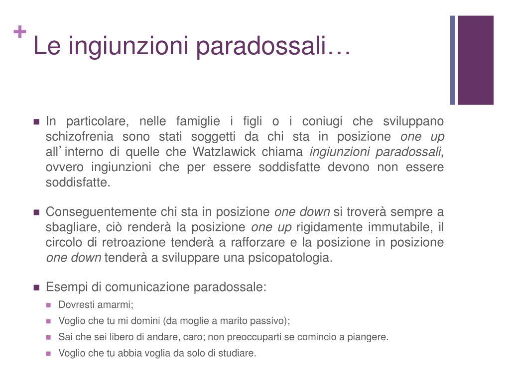 Le ingiunzioni paradossali