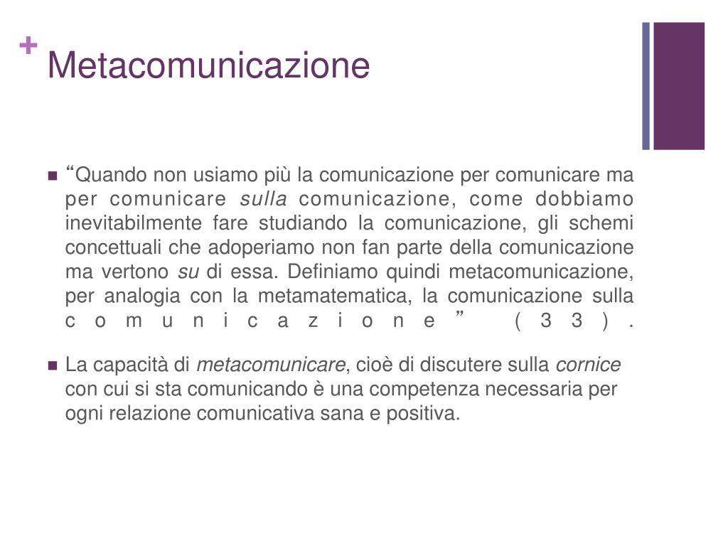 Metacomunicazione
