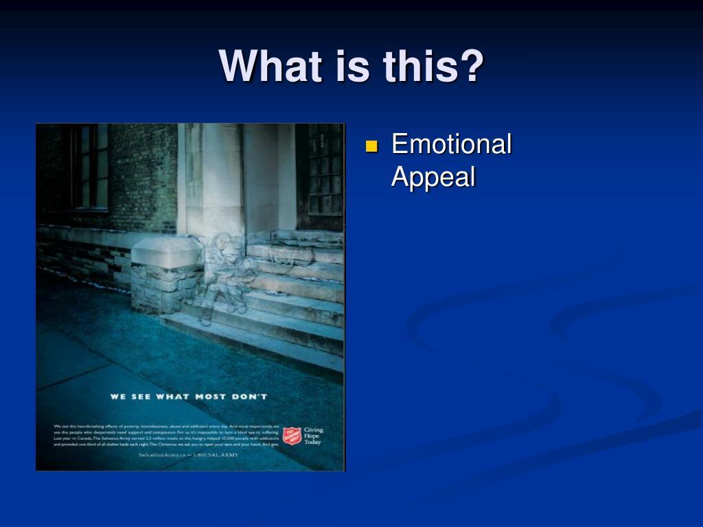 Emotional Appeal
