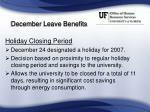 december leave benefits6