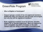 greenride program25