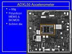 adxl50 accelerometer