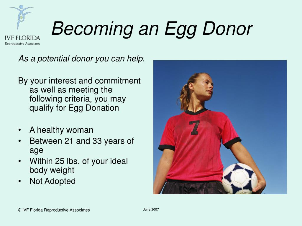 Becoming an Egg Donor