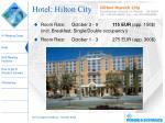 hotel hilton city