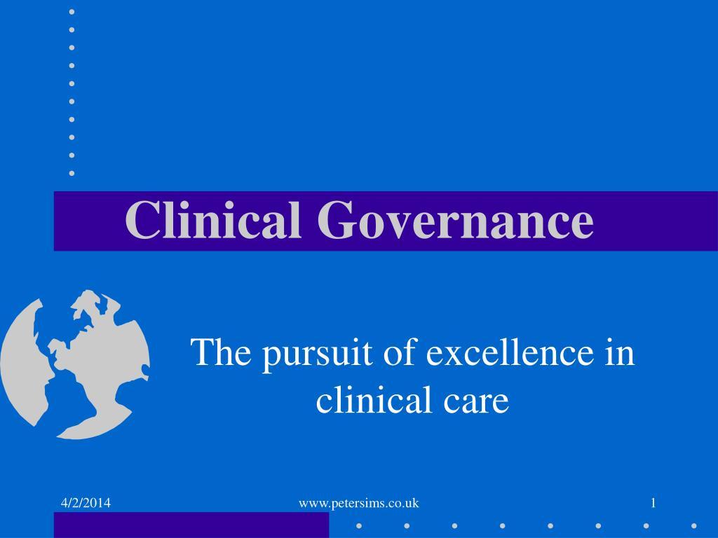 clinical governance l.