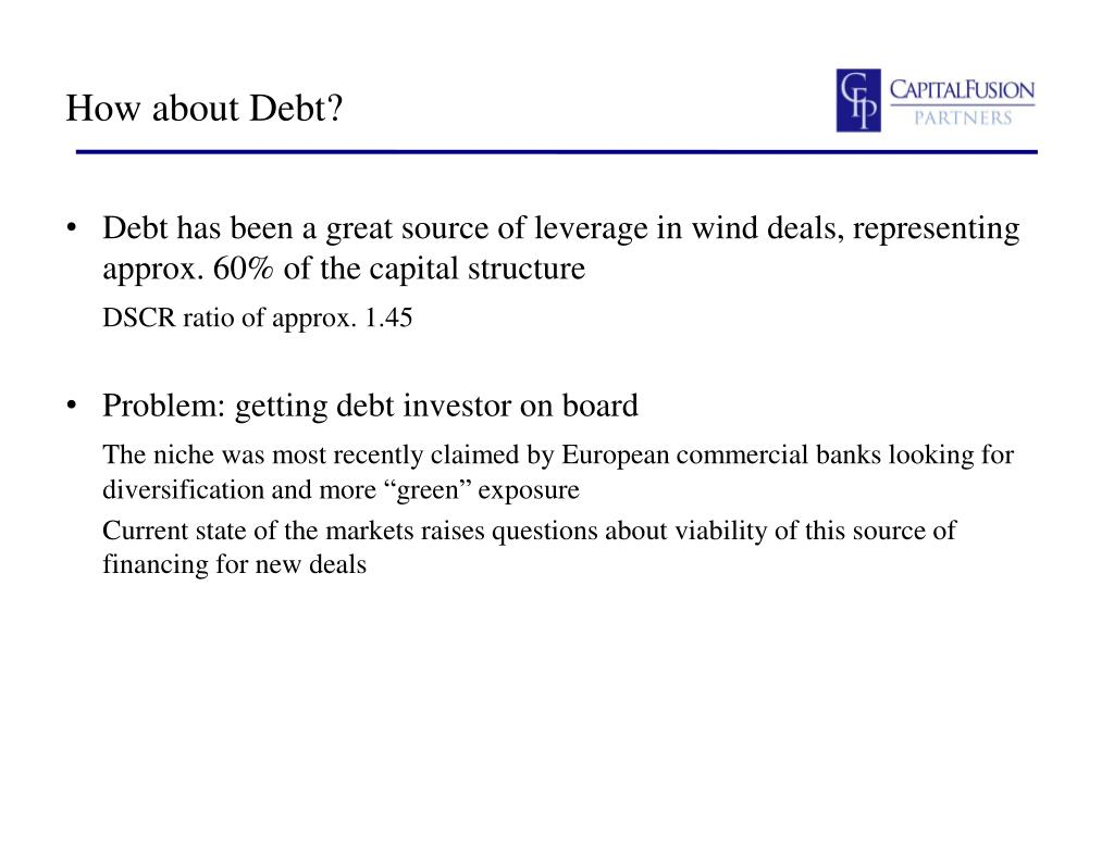 How about Debt?