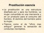 prostituci n esencia