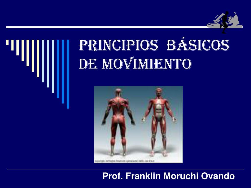 principios b sicos de movimiento l.