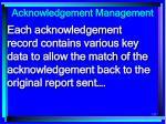 acknowledgement management123