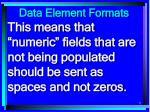 data element formats71