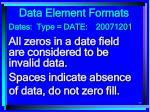 data element formats77