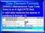 data element formats95