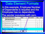 data element formats96
