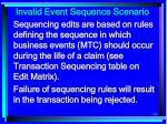 invalid event sequence scenario193