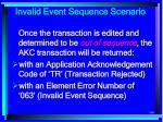 invalid event sequence scenario196