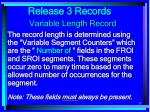 release 3 records27