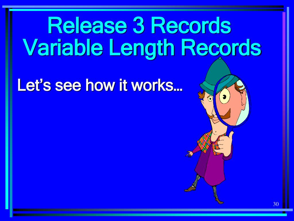 Release 3 Records