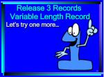 release 3 records34