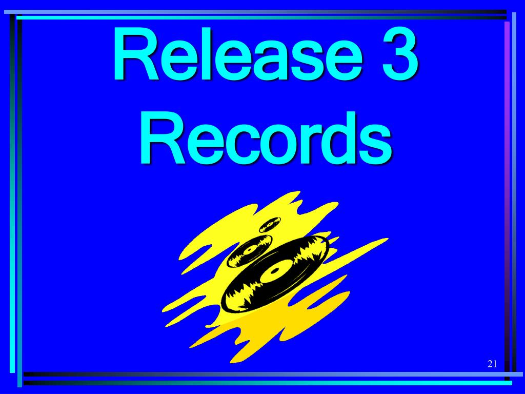 Release 3