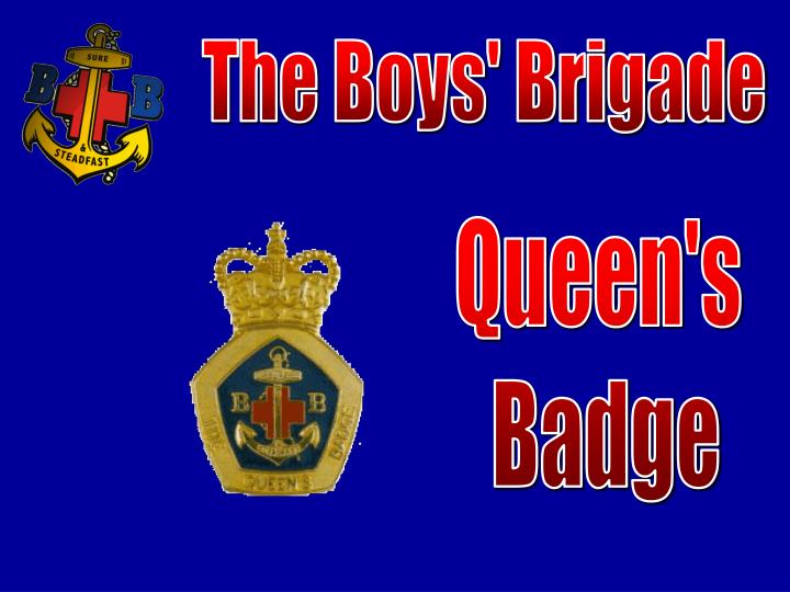 Ppt the boys brigade powerpoint presentation id743684 the boys brigade thecheapjerseys Choice Image
