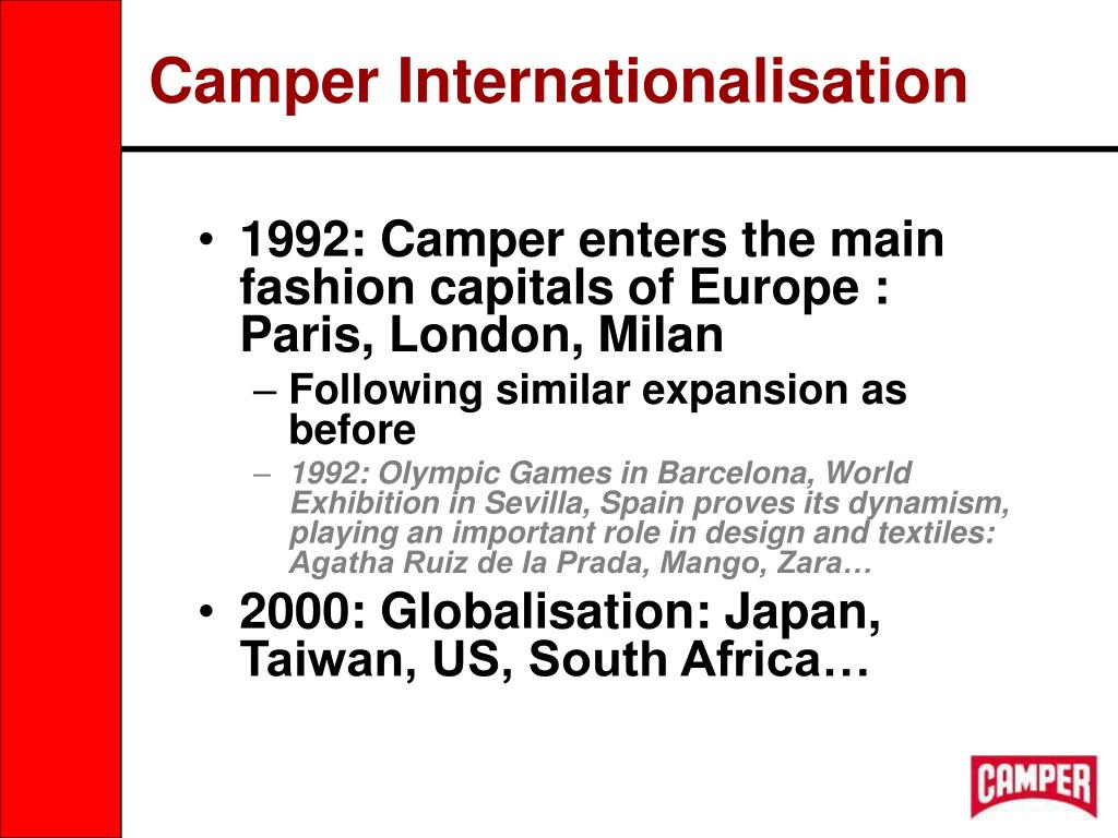 Camper Internationalisation