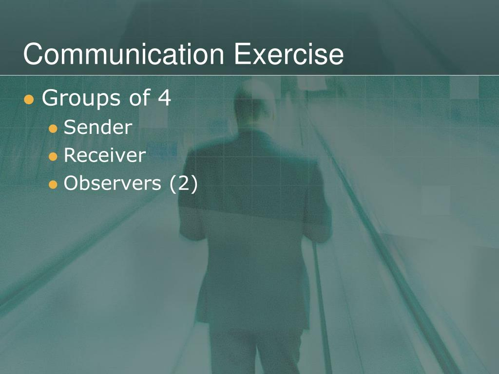 Communication Exercise