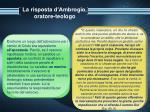 la risposta d ambrogio oratore teologo12