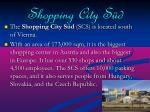 shopping city s d