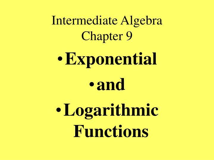intermediate algebra chapter 9 n.