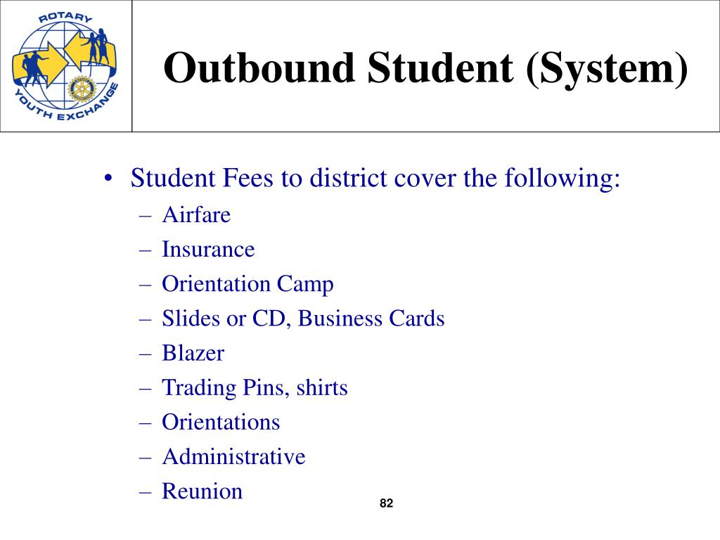 Outbound Student (System)