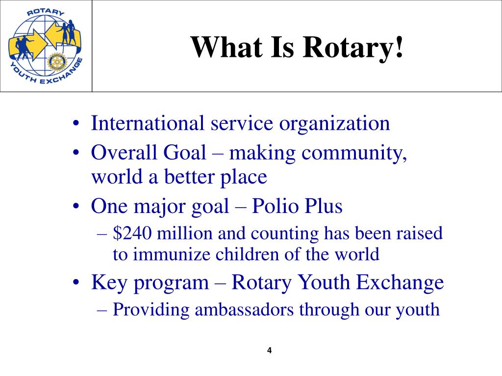 What Is Rotary!