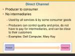 direct channel