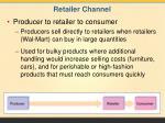 retailer channel