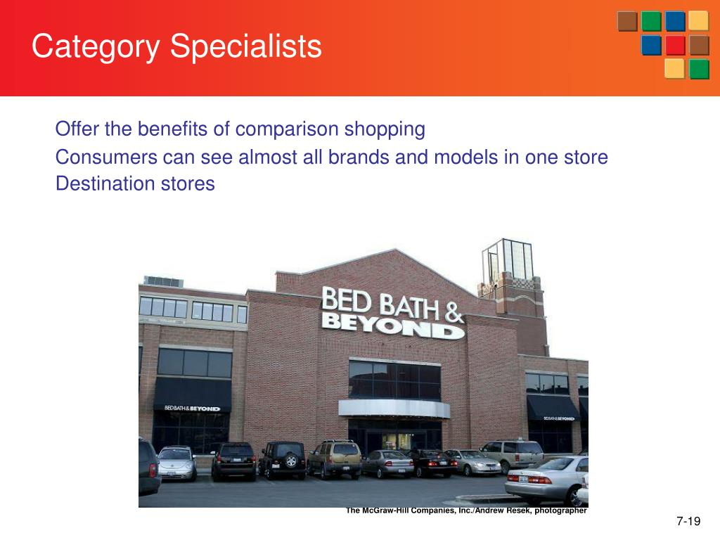 Category Specialists