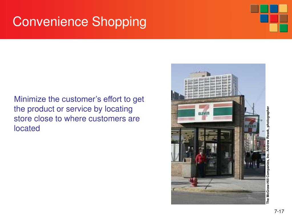 Convenience Shopping