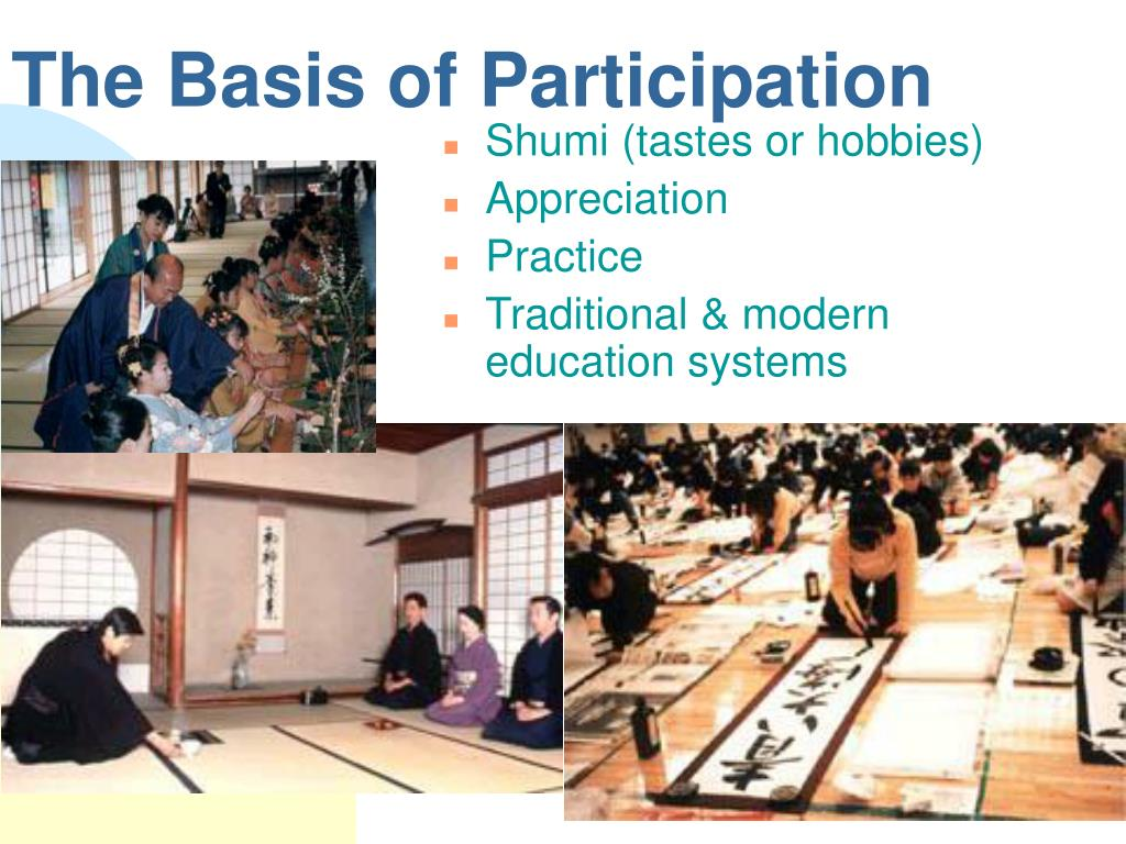 The Basis of Participation