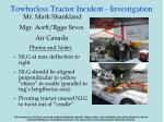 towbarless tractor incident investigation9