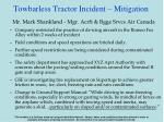 towbarless tractor incident mitigation24