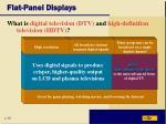 flat panel displays12