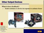 other output devices37