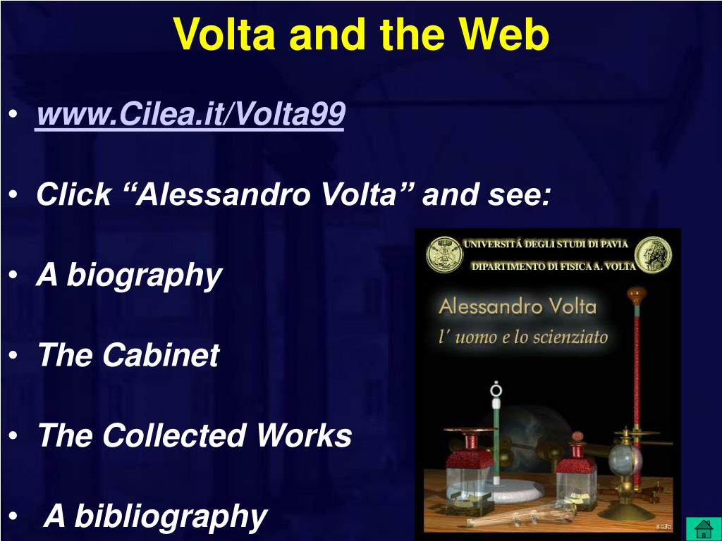 Volta and the Web