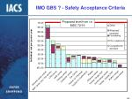 imo gbs safety acceptance criteria13