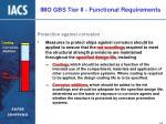 imo gbs tier ii functional requirements11