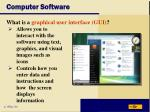 computer software22