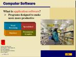 computer software25